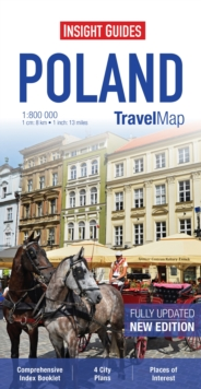 Insight Travel Maps: Poland, Sheet map Book