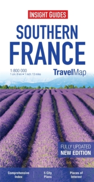 Insight Travel Maps: Southern France, Sheet map Book