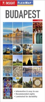 Insight Guides Flexi Map Budapest, Sheet map Book