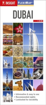 Insight Guides Flexi Map Dubai, Sheet map Book