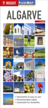 Insight Guides Flexi Map Algarve, Sheet map Book