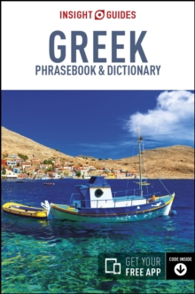 Insight Guides Phrasebook Greek, Paperback / softback Book
