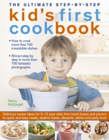 The Ultimate Step-by-Step Kid's First Cookbook, Paperback Book