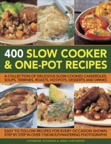 400 Slow Cooker & One-Pot Recipes, Paperback Book