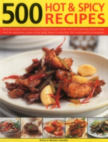 500 Hot & Spicy Recipes, Paperback Book