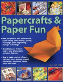 Papercrafts & Paper Fun, Paperback Book