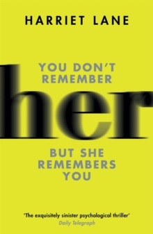Her : A fabulously creepy thriller, Paperback / softback Book