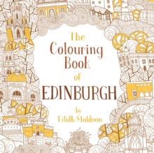 The Colouring Book of Edinburgh, Paperback Book
