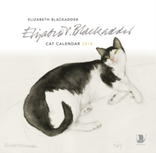 Elizabeth Blackadder Cat Calendar 2018, Calendar Book