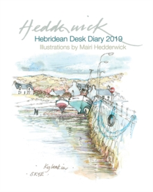 Hebridean Desk Diary 2019, Hardback Book