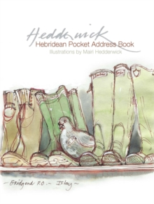 Hebridean Pocket Address Book, Hardback Book