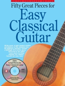 Fifty Great Pieces for Easy Classical Guitar, Mixed media product Book