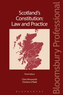 Scotland's Constitution: Law and Practice, Paperback Book
