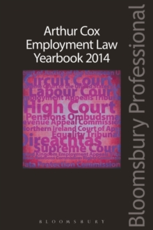Arthur Cox Employment Law Yearbook 2014, Paperback Book