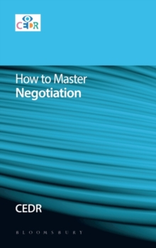 How to Master Negotiation, Paperback Book