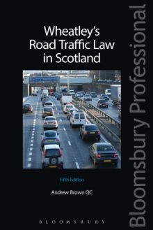 Wheatley's Road Traffic Law in Scotland, EPUB eBook