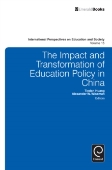 The Impact and Transformation of Education Policy in China, Hardback Book