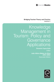 Knowledge Management in Tourism : Policy and Governance Applications, Hardback Book