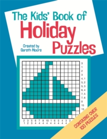The Kids' Book Of Holiday Puzzles, Paperback Book