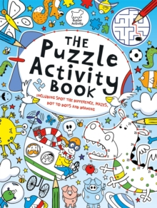 The Puzzle Activity Book, Paperback Book