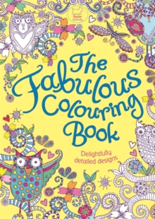 The Fabulous Colouring Book, Paperback Book