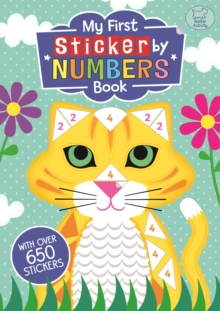 My First Sticker by Numbers Book, Paperback Book