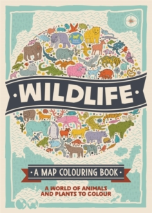 Wildlife: A Map Colouring Book, Paperback / softback Book