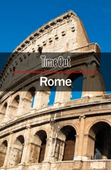 Time Out Rome City Guide : Travel Guide with pull-out map, Paperback Book