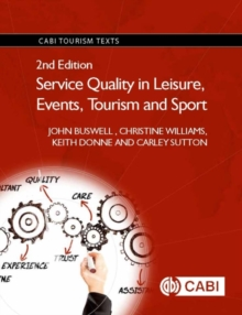 Service Quality in Leisure, Events, Tourism and Sport, Paperback / softback Book