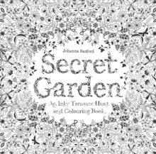 Secret Garden : An Inky Treasure Hunt, Paperback Book
