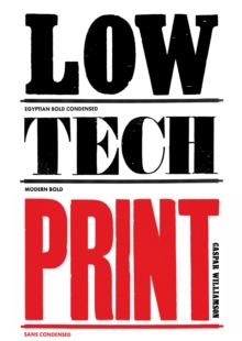 Low-Tech Print, Paperback Book