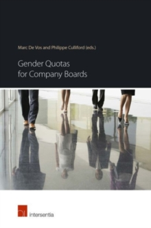 Gender Quotas for Company Boards, Paperback Book