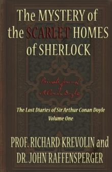 The Mystery of the Scarlet Homes of Sherlock, Paperback Book