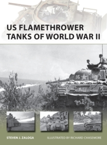 US Flamethrower Tanks of World War II, Paperback / softback Book