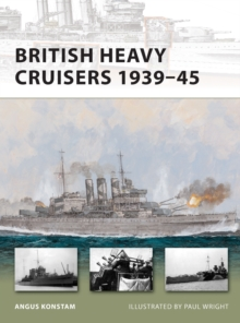 British Heavy Cruisers 1939 45, EPUB eBook