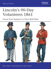 Lincoln's 90-Day Volunteers 1861 : From Fort Sumter to First Bull Run, Paperback / softback Book