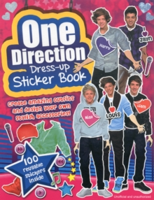 One Direction: Dress-Up Sticker Book, Paperback Book