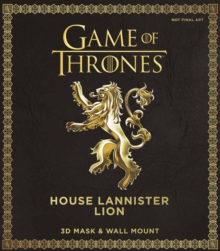 Game of Thrones Mask: House Lannister Lion, Mixed media product Book