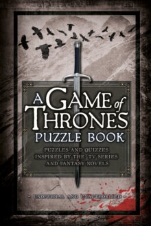 A Game of Thrones Puzzle Book, Hardback Book