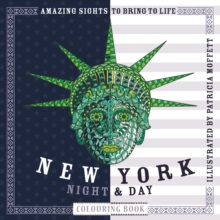 New York Night & Day Colouring Book, Paperback Book