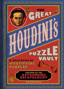 The Great Houdini's Puzzle Vault, Hardback Book