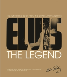 Elvis The Legend, Hardback Book