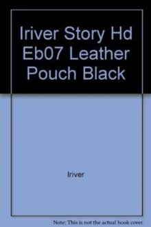 IRIVER STORY HD EB07 LEATHER POUCH BLACK,  Book