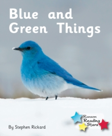 Blue and Green Things, Paperback Book