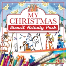My Christmas Stencil Activity Pack, Mixed media product Book