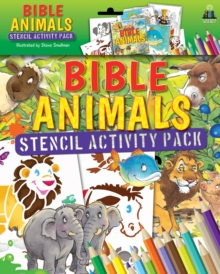 Bible Animals Stencil Activity Pack, Mixed media product Book