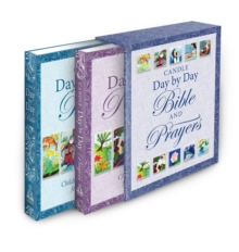 Candle Day by Day Bible and Prayers Gift Set, Hardback Book