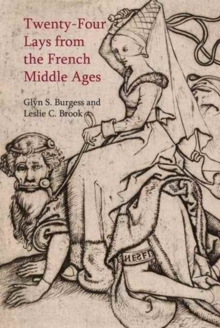 Twenty-Four Lays from the French Middle Ages, Paperback / softback Book