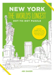 New York the World's Longest Dot-to-Dot Puzzle, Hardback Book