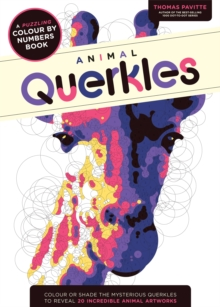 Animal Querkles : A puzzling colour-by-numbers book, Paperback / softback Book